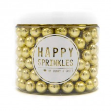 Happy Sprinkles Choco Gold Metallic (10mm)
