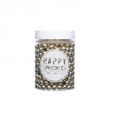 Happy Sprinkles Choco Gold Metallic (5mm)