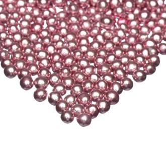 Happy Sprinkles Choco Pink Metallic (5mm)