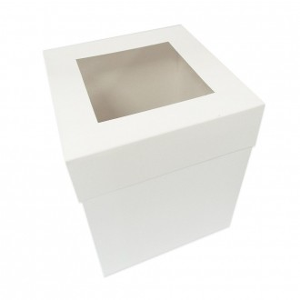 Extra Deep Cake Box With Window 14*14*14