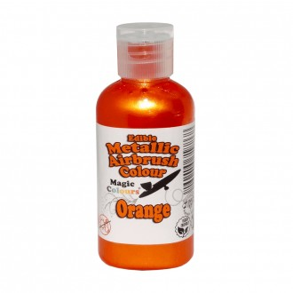 Metallic Airbrush Colours - 55ml Orange