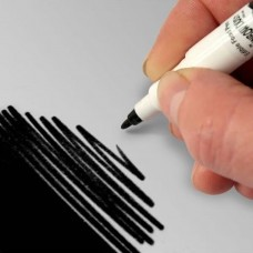 Double-ended Cake Craft Pen from Rainbow Dust (Black)