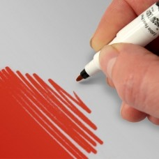 Double-ended Cake Craft Pen from Rainbow Dust (Red)