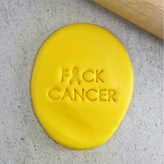 F*CK CANCER Embosser