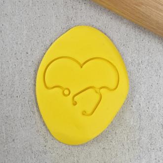 Stethoscope Heart Embosser