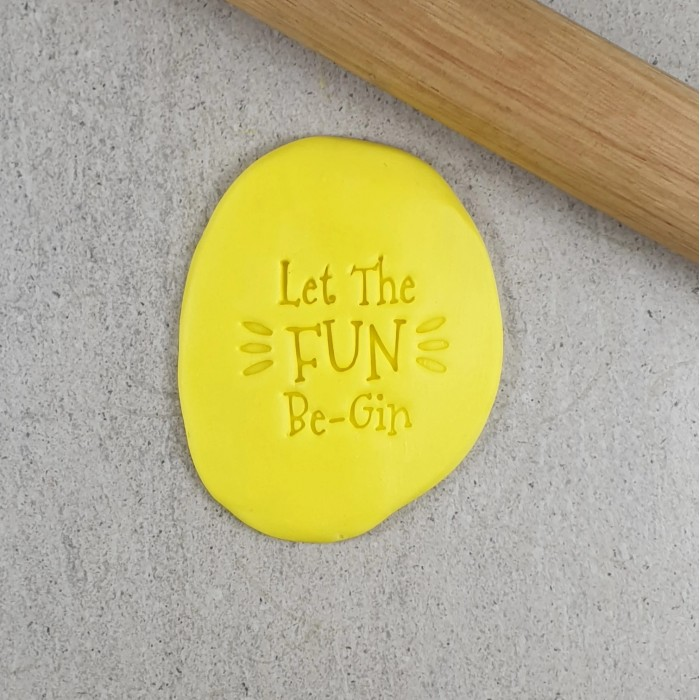 Let the Fun Be-Gin Embosser