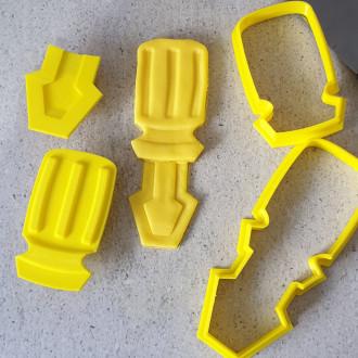 Screwdriver 3D embosser & Cutter Set