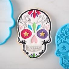 Skull 3D embosser & Cutter Set (Heart Eyes)