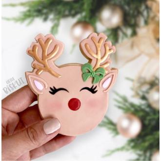 Rudolph Reindeer 3D embosser & Cutter Set