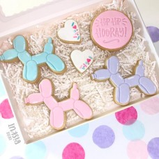 Little Biskut Balloon Dog Stamp and Cutter Set
