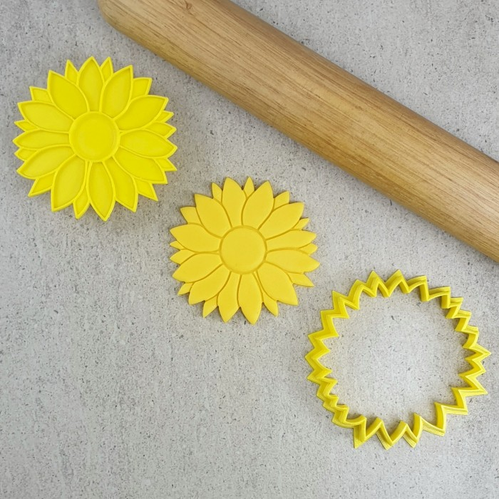 Sunflower Embosser & Cutter Set