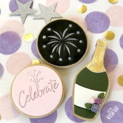 Little Biskut Champagne Cutter Set