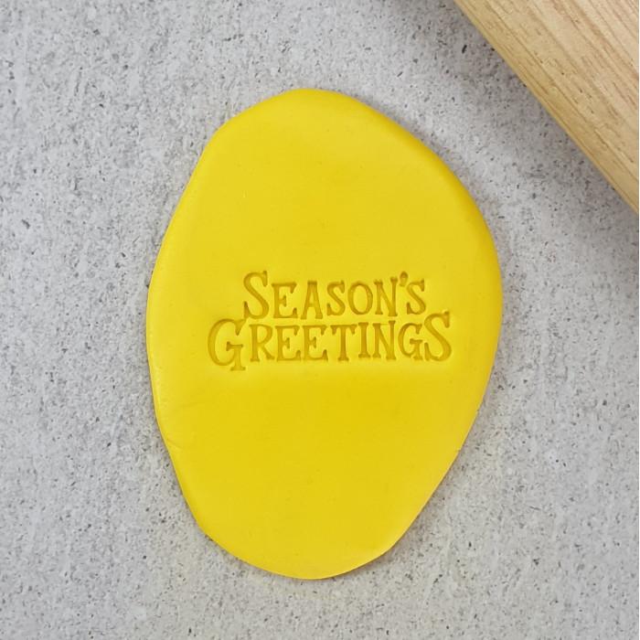 Seasons Greetings Embosser