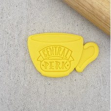Central Perk Coffee Cup Cutter and Embosser