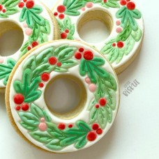 Christmas Wreath Cutter & Embosser Set (Little Biskut)