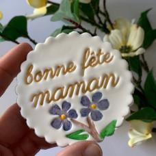 Bonne Fête Maman Embosser V1