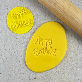 Happy Birthday Embosser V4