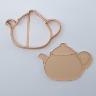 Little Biskut Teapot Cutter & Embosser