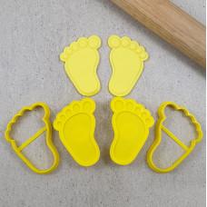 Baby Foot Cutter & Debosser Set