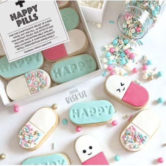 Little Biskut HAPPY Pill Set - Without Cutter