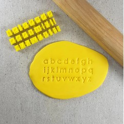 Letter Stamps Modern (Cookies) lowercase