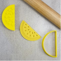 Watermelon Cutter & Embosser Set