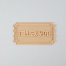 Little Biskut Ticket Cutter & Embosser Set (Thank You)