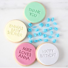 Letter Stamps Modern (Cookies) Uppercase