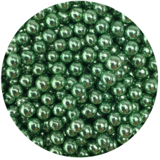 Celebakes Green Dragees 5mm, 3.7 oz.
