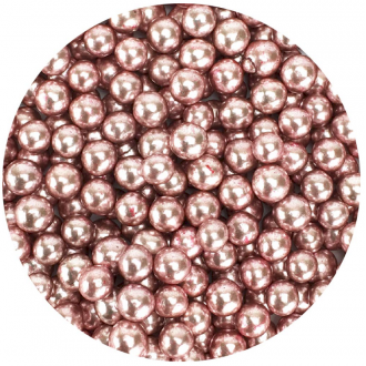 Celebakes Pink Dragees 5mm, 3.7 oz.