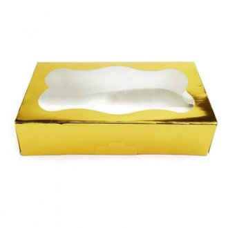 Cookie Box 1 Pound (Gold)