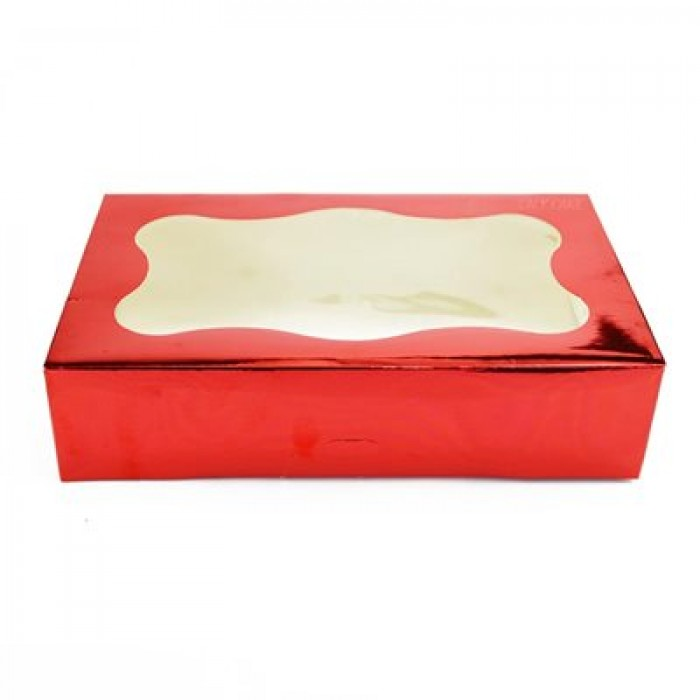 Cookie Box 1 Pound (Red)