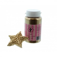 Claire Bowman Gold Decorative Metallic Lustre Dust 56.6g
