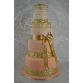 Cake Lace Mat Sequins