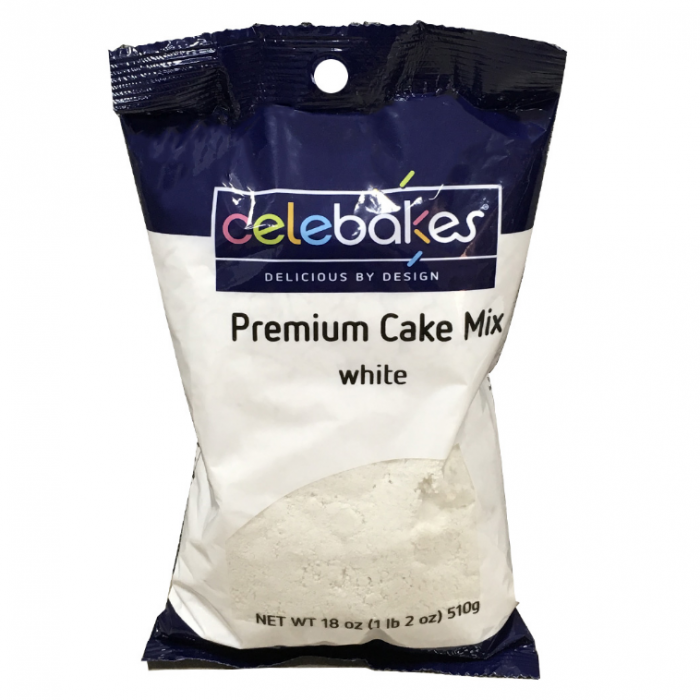 Premium White Cake Mix 18Oz