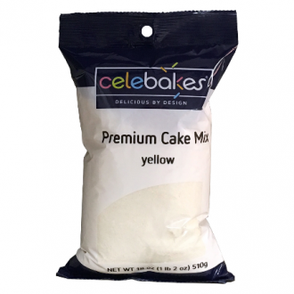 Premium Yellow Cake Mix 18Oz