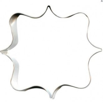 Plaque Cookie Cutter Square 4''