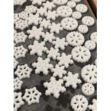 Sugar Snowflakes (Box of 138)