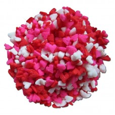 Mini Hearts Edible Confetti 2.6oz
