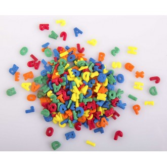 Colored Letter Shapes Sprinkles