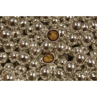 Sugar Pearls Silver Crispies 5mm (Delicious to eat)