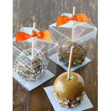 Clear Caramel Apple Box