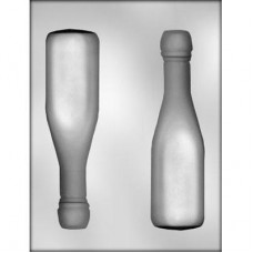 Bottle Mold 3D Champagne (Hard Candy)