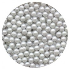 Sugar Pearls 4mm Pearlized White from Kitchen Jukebox 100% Natural