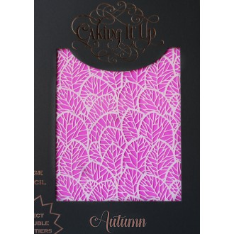 Cake Stencil - Autumn Caking it Up