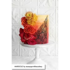 Mesh Cake Stencil - Marigold Caking it Up