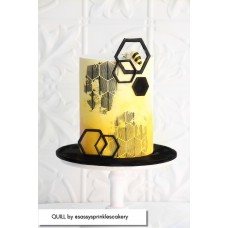 Mesh Cake Stencil - Quill Caking it Up
