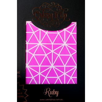 Cake Stencil - Ruby Caking it Up