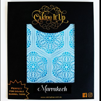 Cake Stencil - Marrakech Caking it Up