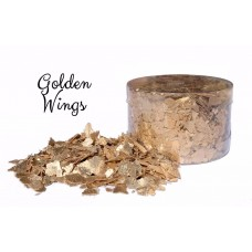 Edible Flakes Golden Wings